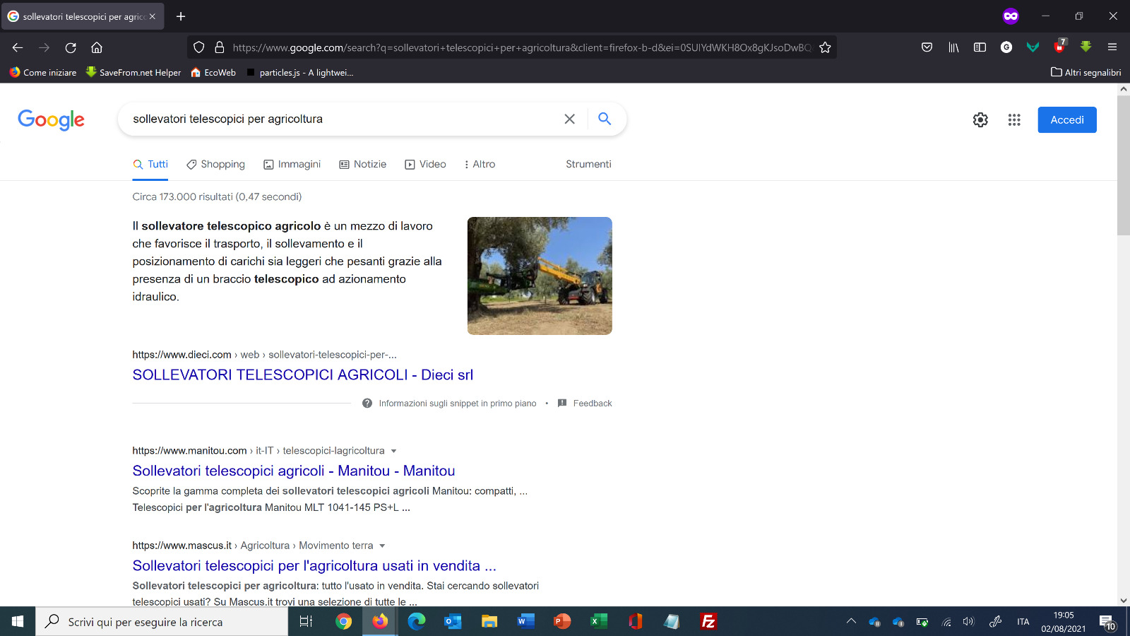 google DIECI snipped