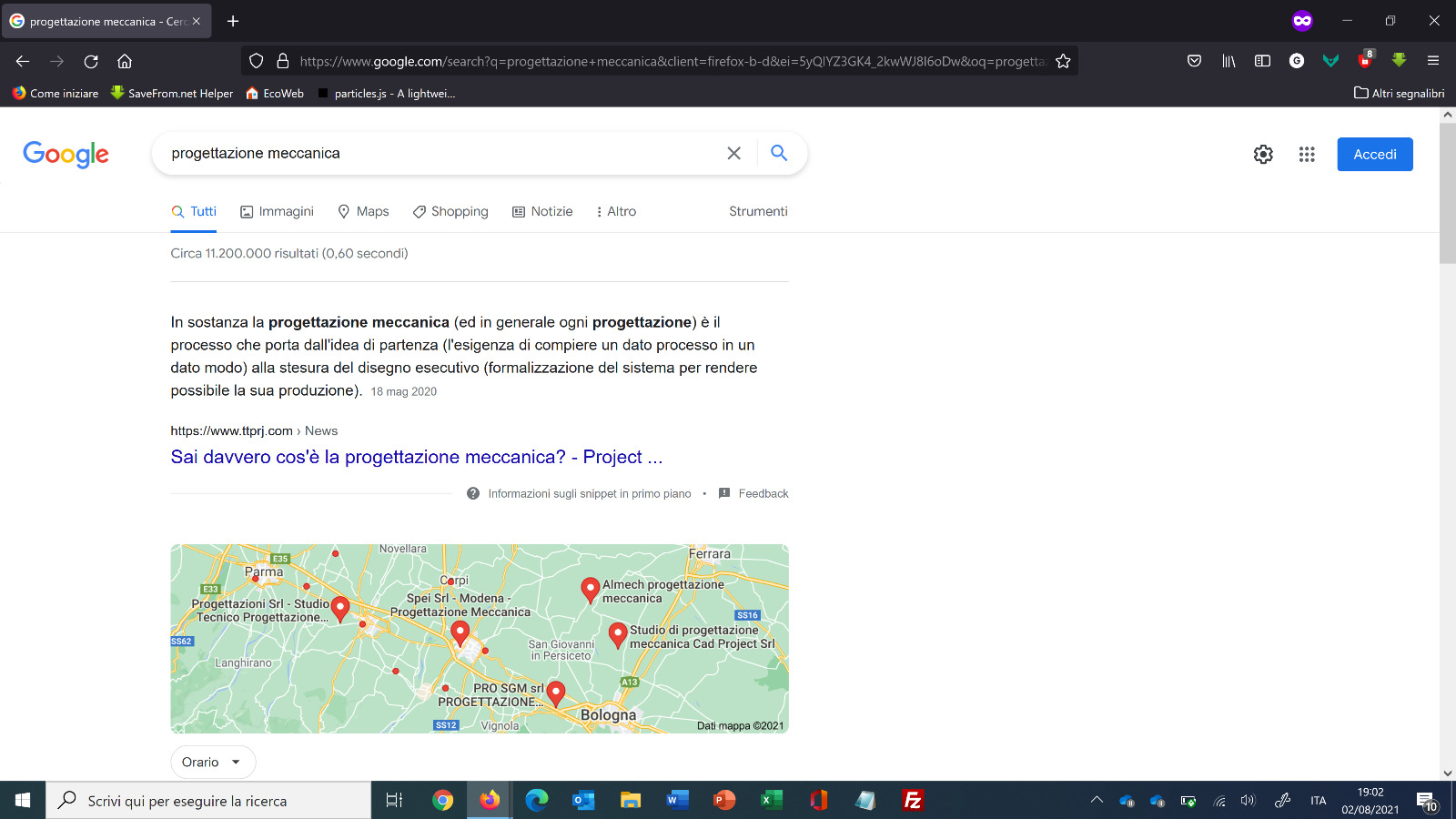 google PROJECT snipped